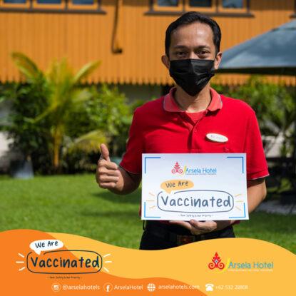Arsela Hotel Pangkalan Bun is fully vaccinated